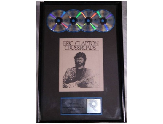 """RIAA 2x Platinum Sales Award – """"Crossroads"""""""