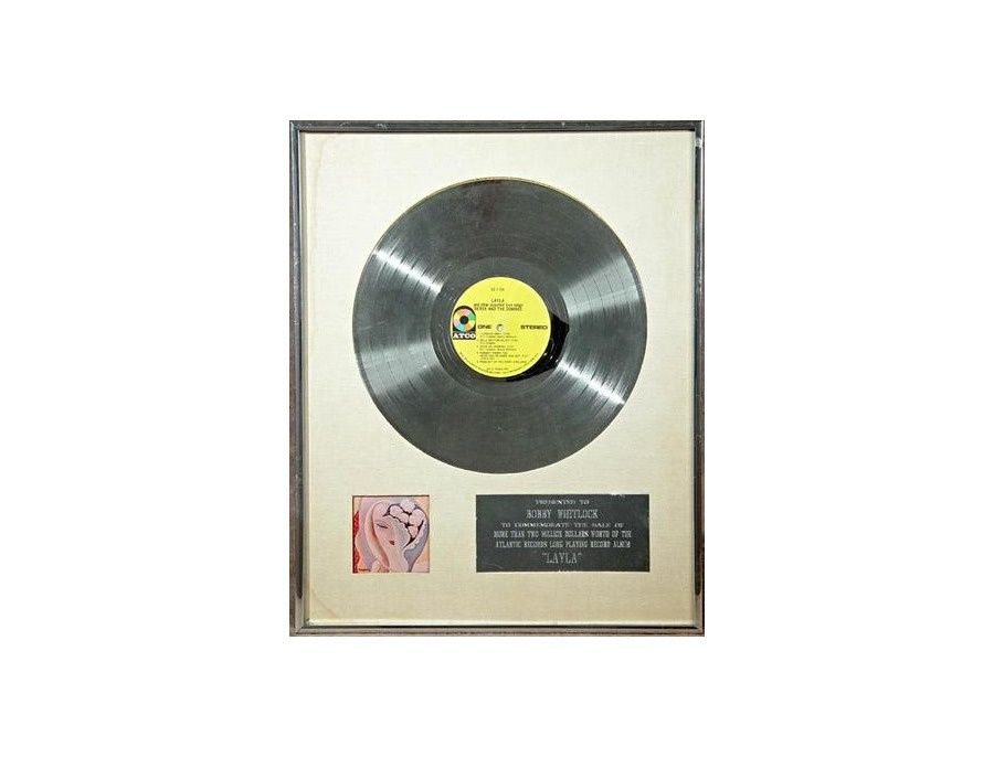 "RIAA Platinum Sales Award – ""Layla and Other Assorted Love Songs"""