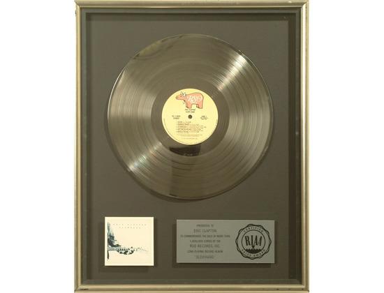 "RIAA Platinum Sales Award – ""Slowhand"" [1]"