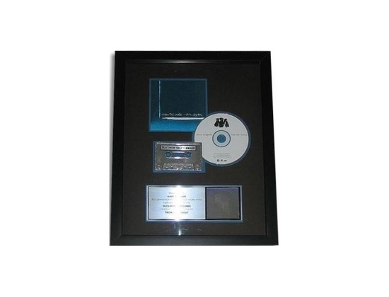 "RIAA Platinum Sales Award – ""From the Cradle"" [1]"