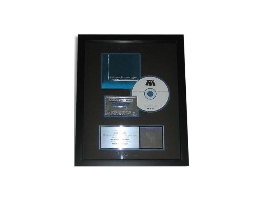 "RIAA Platinum Sales Award – ""From the Cradle"" [1]"