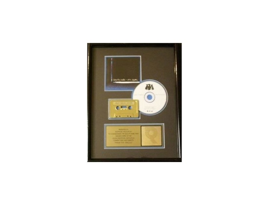 """RIAA Gold Sales Award – """"From the Cradle"""""""