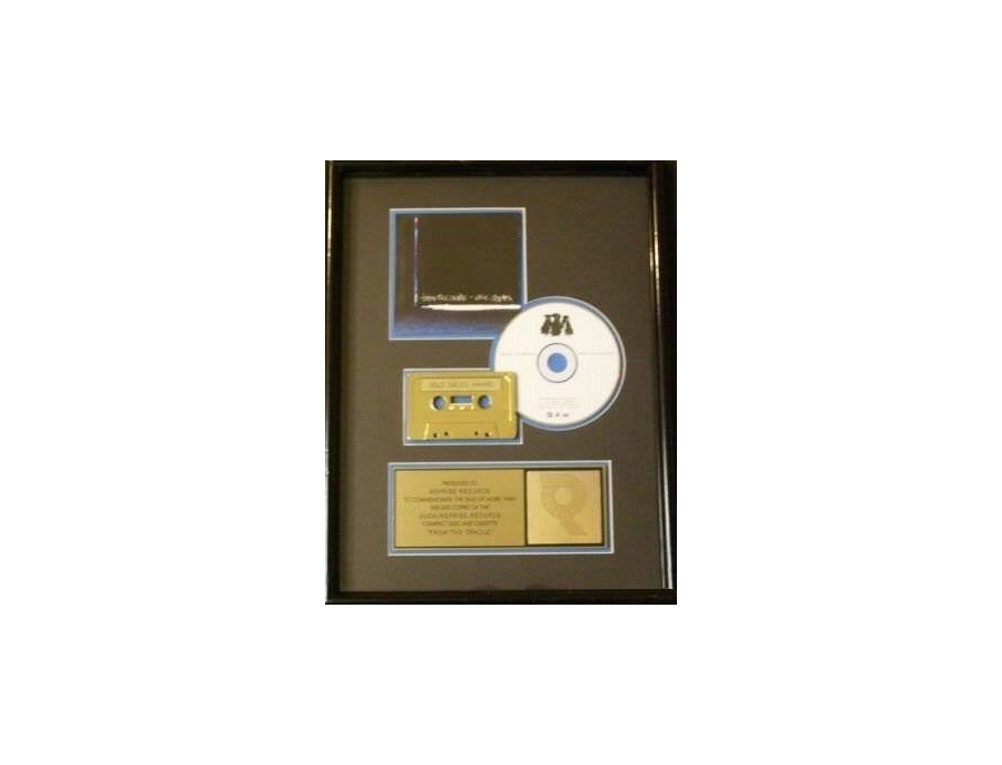 "RIAA Gold Sales Award – ""From the Cradle"""