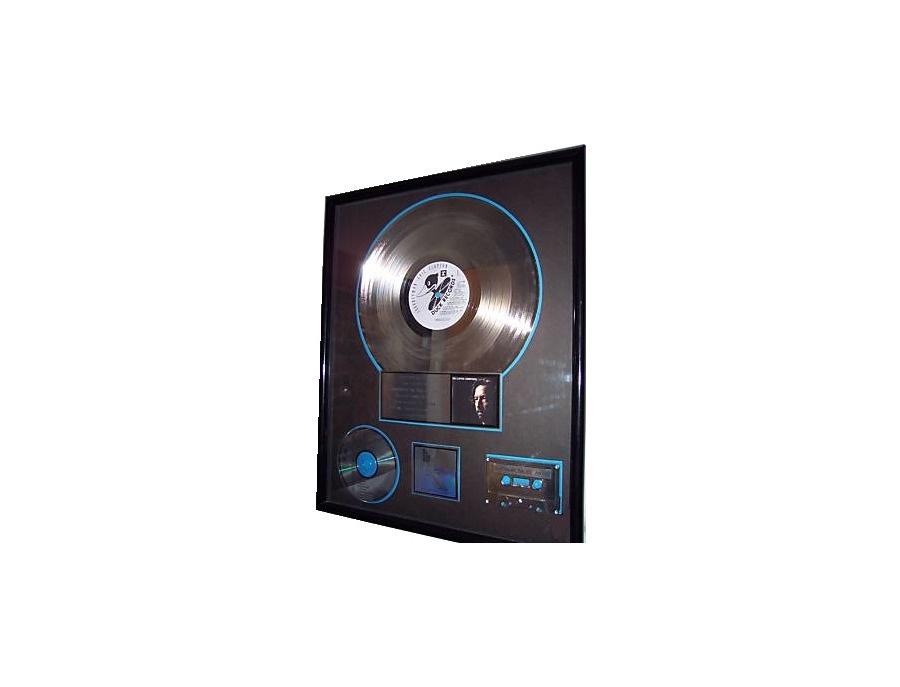 "RIAA Platinum Sales Award – ""Journeyman"" [2]"