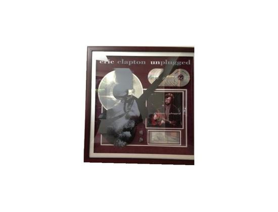 """RIAA 10x Platinum Sales Award – """"Unplugged"""""""
