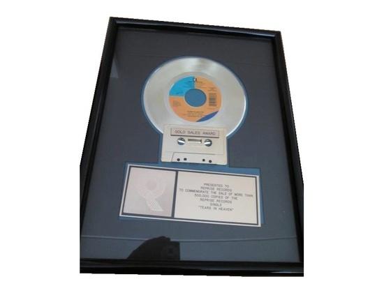 "RIAA Gold Sales Award – ""Tears in Heaven"""