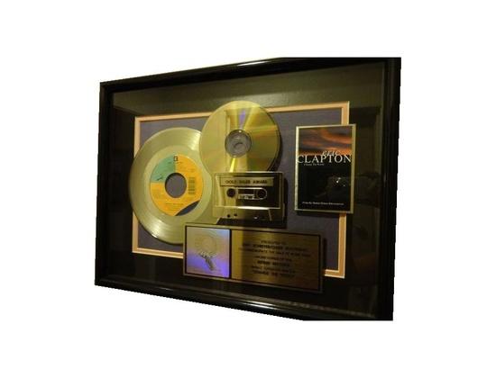 "RIAA Gold Sales Award – ""Change the World"""