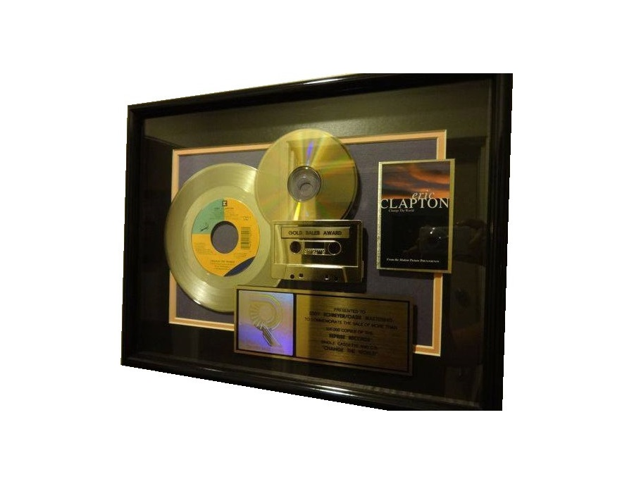 "RIAA Gold Sales Award – ""Change the World"""