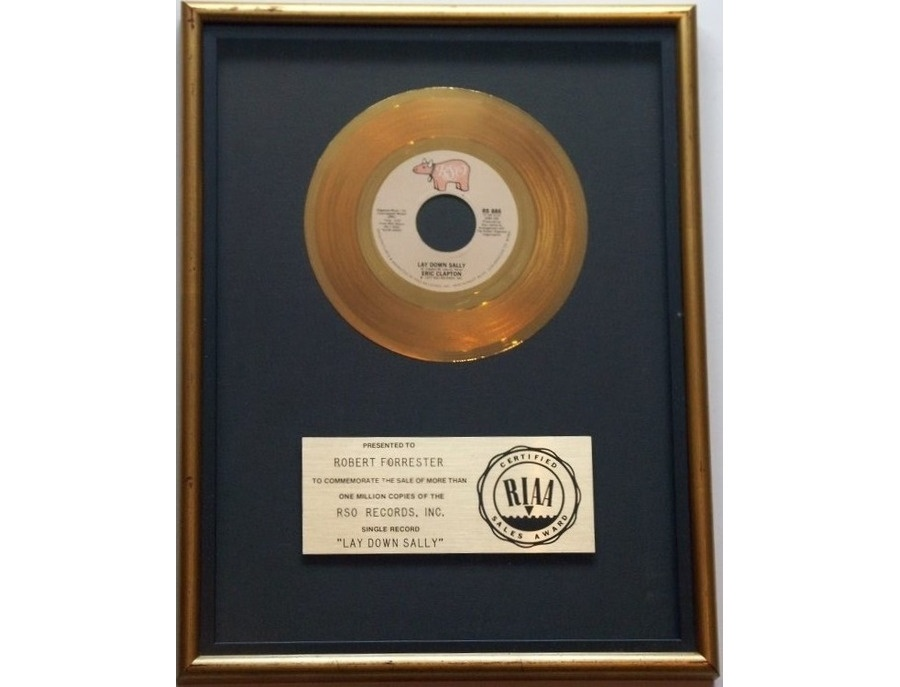 "RIAA Gold Sales Award – ""Lay Down Sally"""
