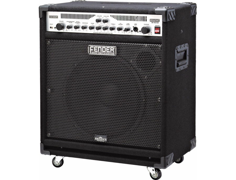 Fender Bassman 250/115 Bass Combo Amp