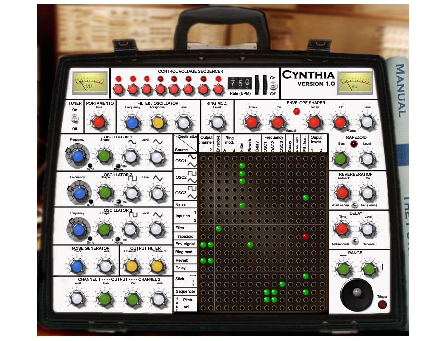 Nine Cows Cynthia Synthesizer