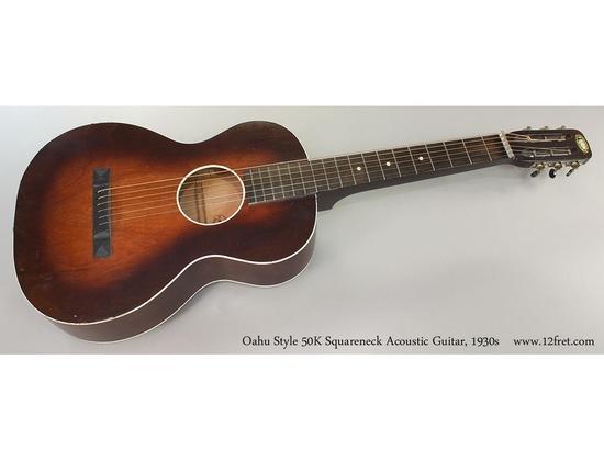 Oahu 50K Squareneck Acoustic Guitar