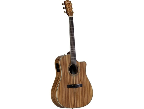 Fender CD-220CE Zebrano