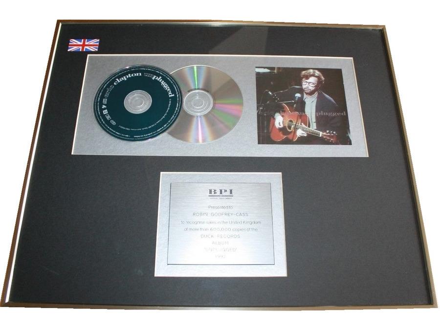 "BPI 2x Platinum Sales Award – ""Unplugged"""