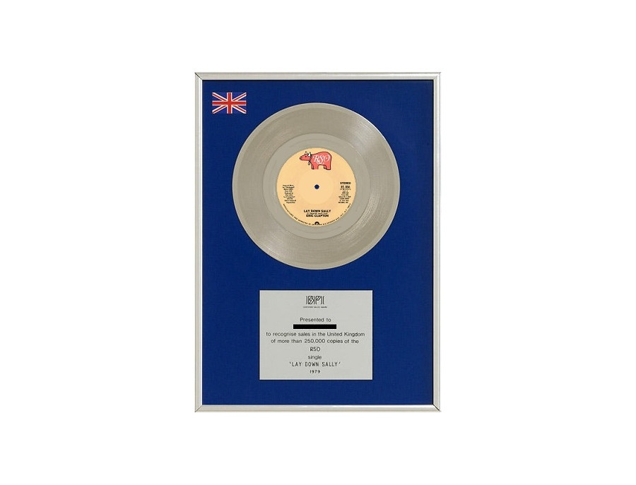 "BPI Silver Sales Award – ""Lay Down Sally"""