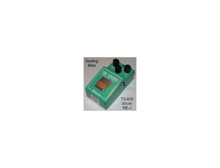 Analogman modded Ibanez TS-808 Reviews & Prices | Equipboard®