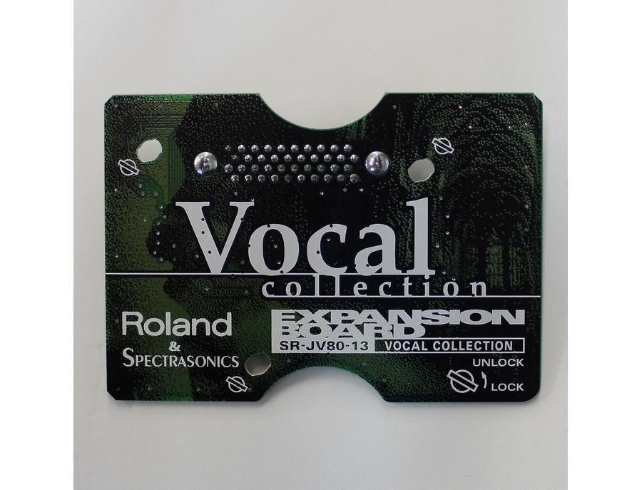 Roland SR-JV80-13 Vocal Collection