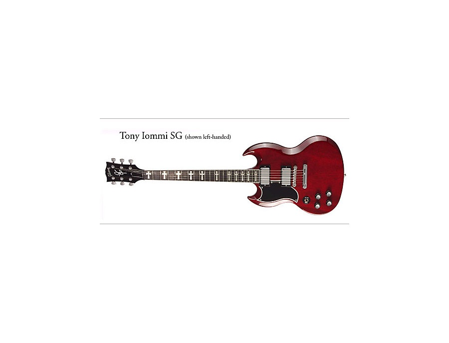 Gibson sg iommi prototype red xl