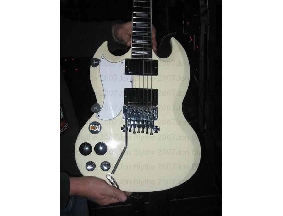 Gibson Custom SG Floyd Rose (White Finish).