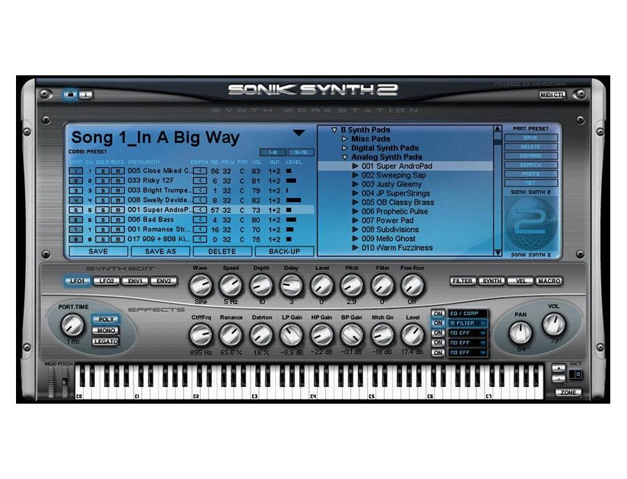 IK Multimedia Sonik Synth 2