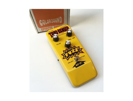 Colorsound 'Yellow Tonebender' Limited Edition