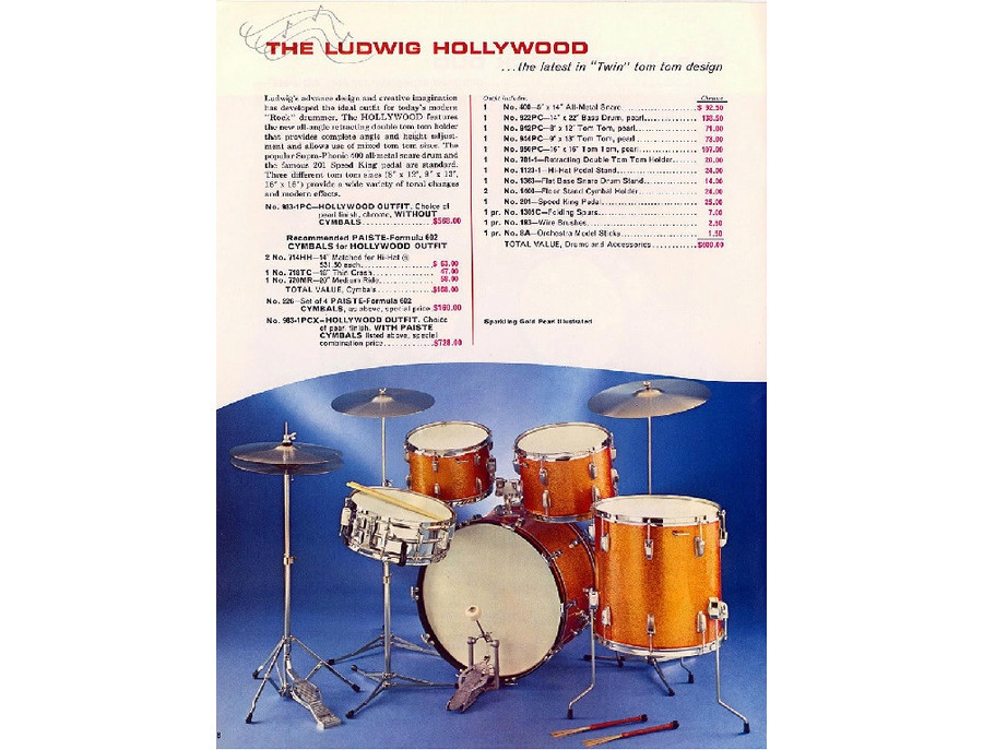 Ludwig Hollywood Kit
