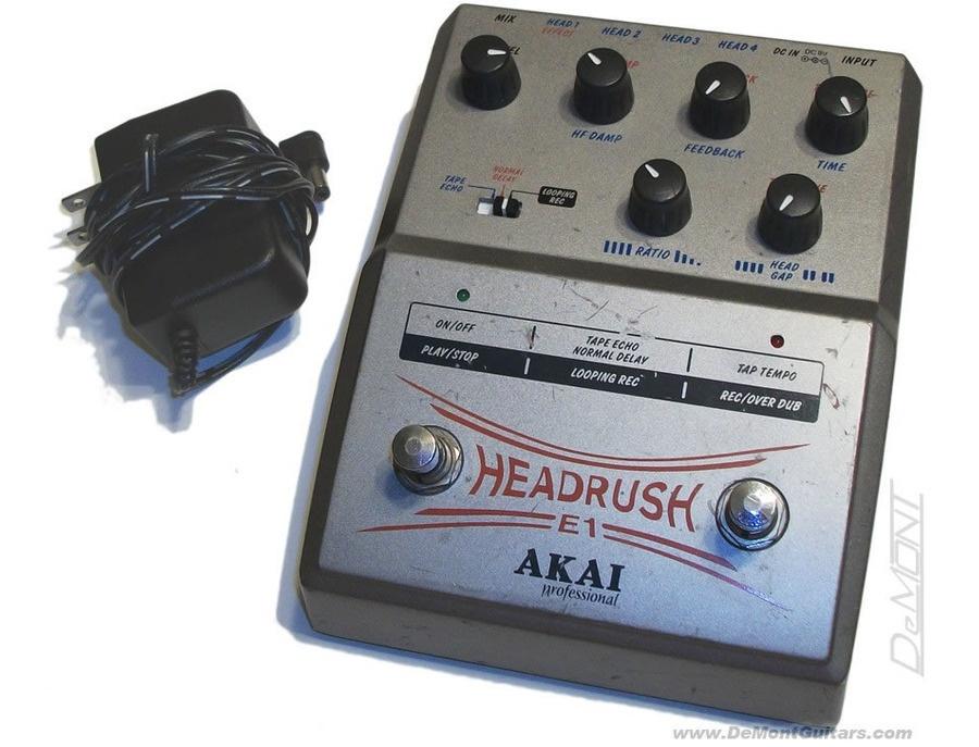 Akai E1 Headrush Delay/Looper