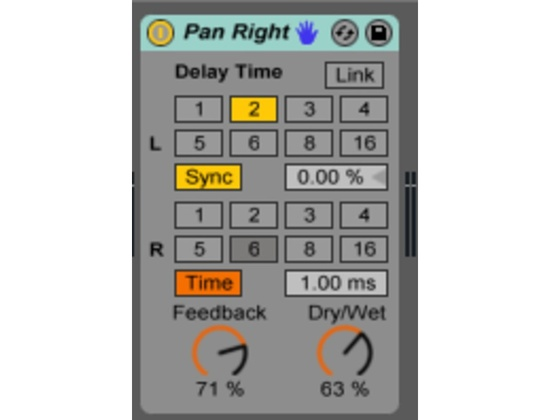 Ableton Simple Delay Plugin