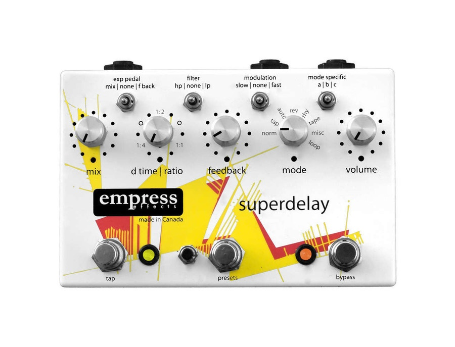 Empress superdelay delay pedal new design xl