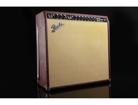 Fender Super reverb reissue burgundy wheat