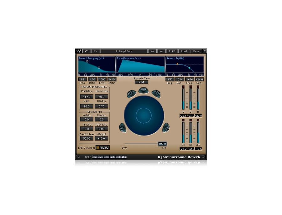 Waves R360 Surround Reverb