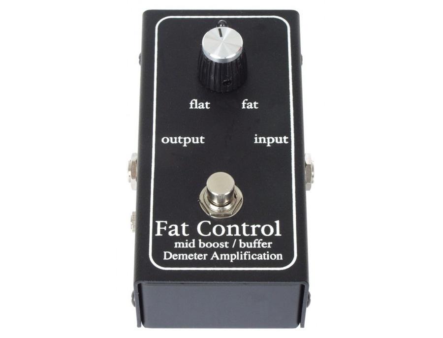 Demeter mb 2b midboost fat control pedal xl