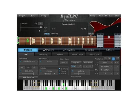 MusicLab RealLPC