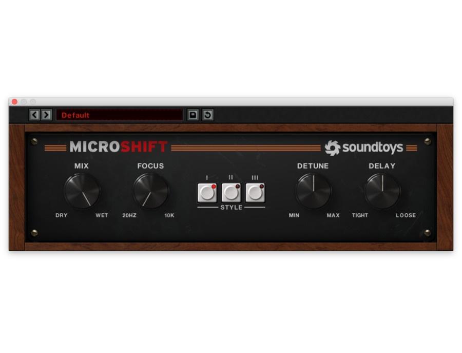 Soundtoys MicroShift