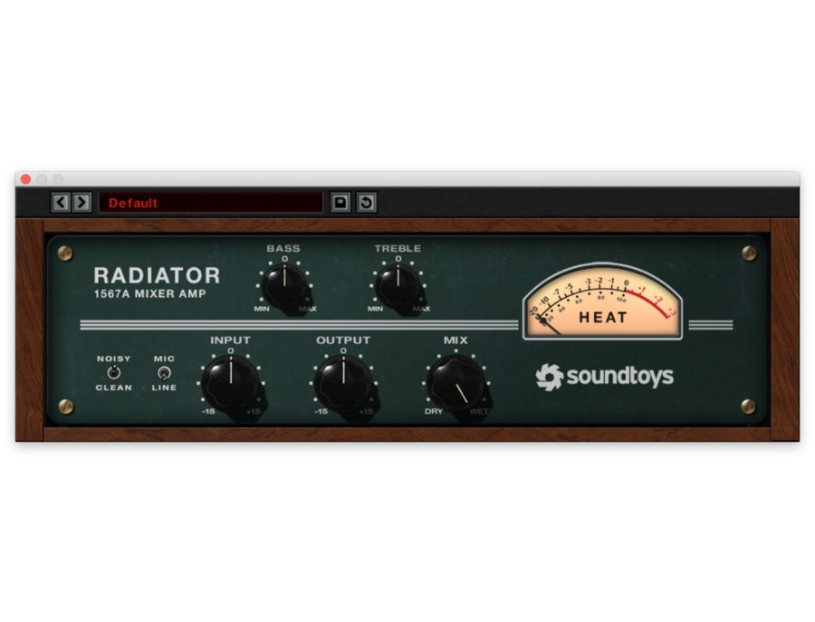 Soundtoys radiator xl