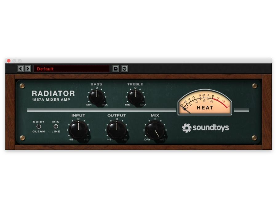Patrick Stump's Soundtoys Radiator   Equipboard®