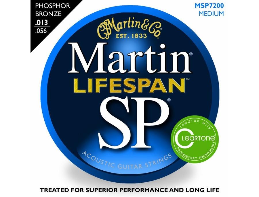 Martin SP Lifespan 92/8 Phosphor Bronze Medium - MSP7200