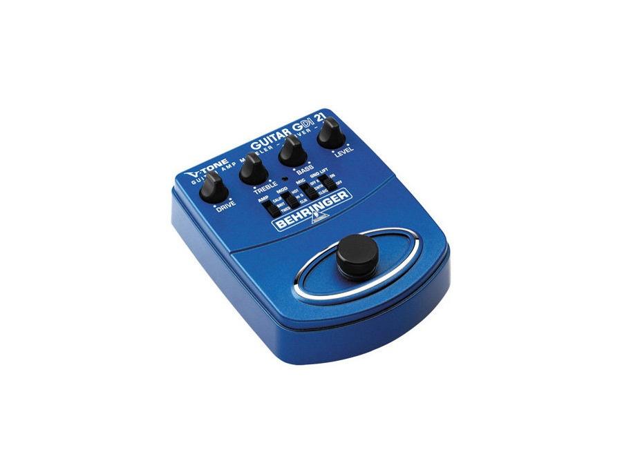 Behringer V-Tone GDI 21 Guitar Amp Modeler
