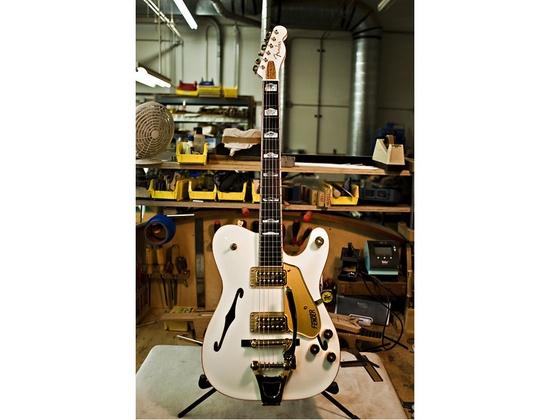 Fender Custom Shop White Chicken Thinline Telecaster