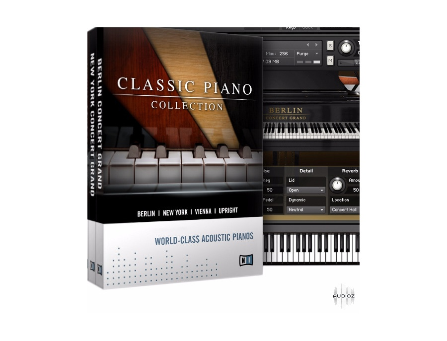 Native instruments classic piano collection xl