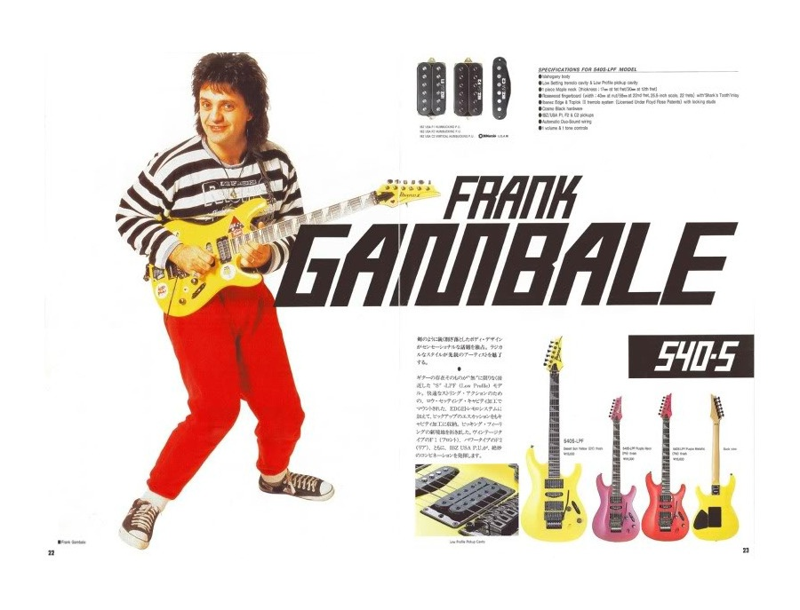 Ibanez Saber Frank Gambale model