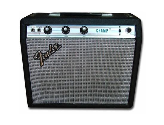 Fender Silverface Champ (Vintage Combo)