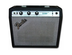Fender silverface champ vintage combo s