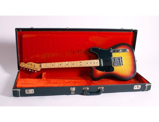 Fender Telecaster Custom 1977 Red Sunburst