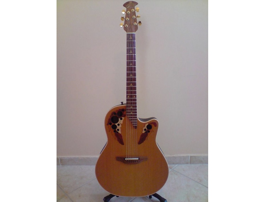 Ovation Elite cedar top