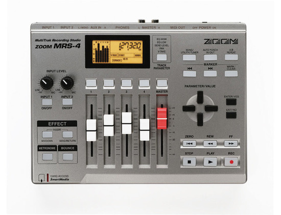 Zoom MRS-4 MultiTrak Recording Studio