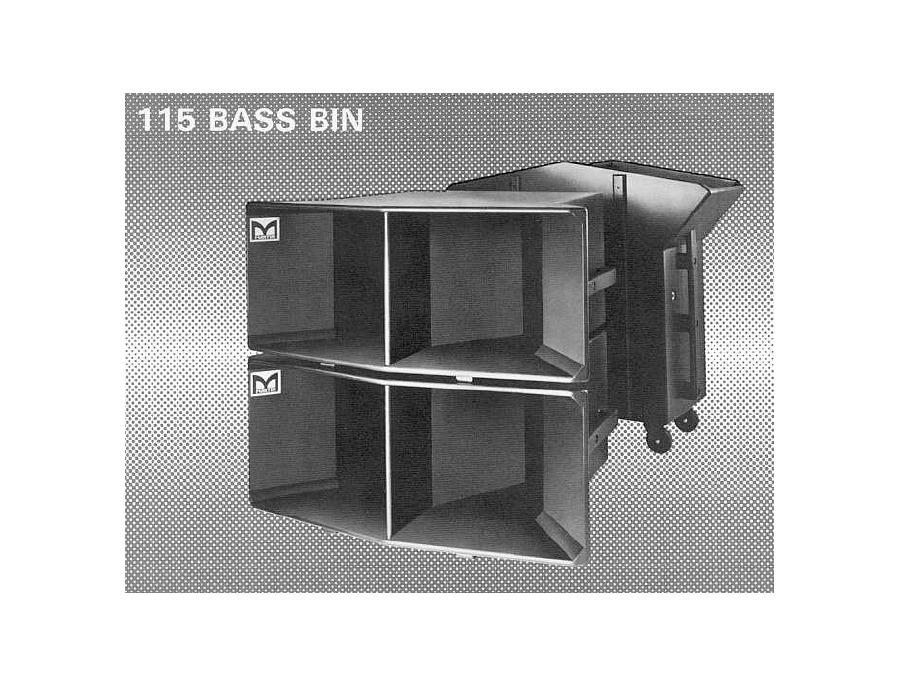 Martin audio 115 bass bin xl