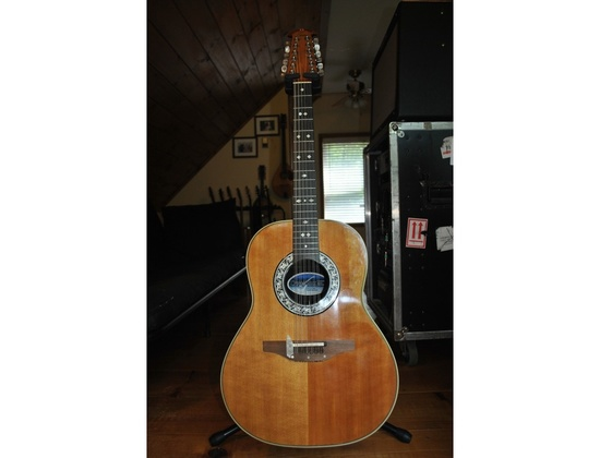 1984 Ovation Custom Balladeer 12 string