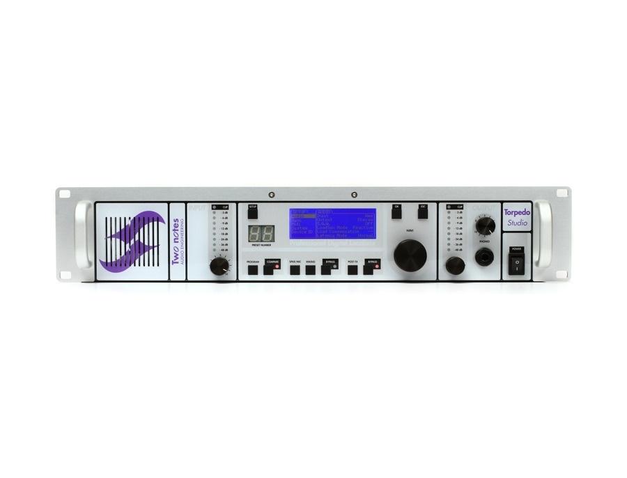 Two notes torpedo studio digital loadbox attenuator xl