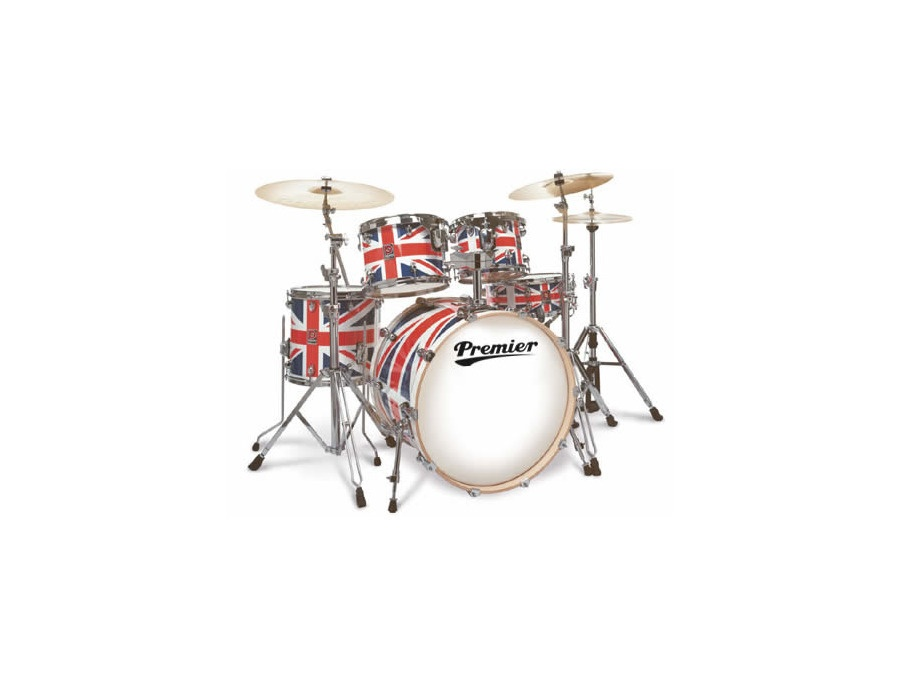 Premier Union Jack Drum Kit